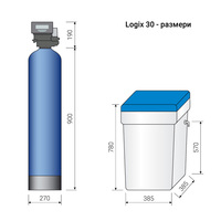 Омекотителна система 1900 литра/час