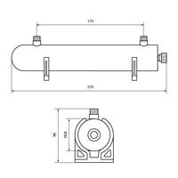 Стерилизираща лампа 240 л/час